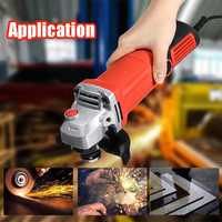 1600W 11000r/min Electric Angle Grinder Woodworking Compact Angle Grinding Machine Polishing Polisher Metal Wood Cutting Tool