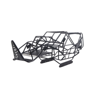 Steel Roll Cage Frame Body Black Steel Frame Body Chassis for Axial with RCX10 1/10 RC Rock Car Crawler Climbing Truck Parts