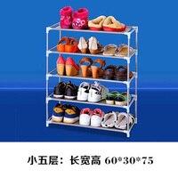 Multi-camada de sapato rack de alumínio metal em pé sapato rack diy sapatos prateleira de armazenamento casa sala de estar organizador acessórios