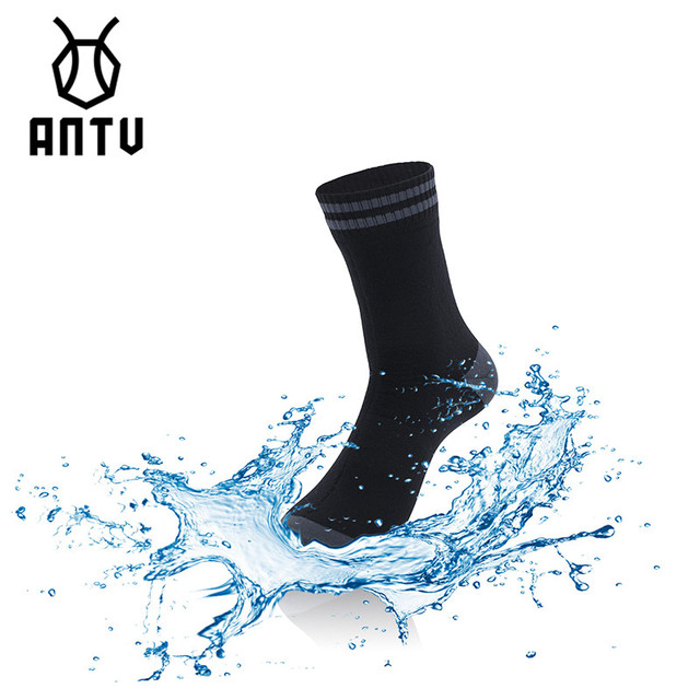 ANTU Waterproof Breathable Socks Lightweight Summer style TRAIL DRY For Hiking Hunting Fishing Seamless Outdoor Sports Unisex