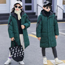 2019 Hooded Children Winter Coats Boys Outerwear Cothes Thick Warm Parkas Coat Kids Cotton Padded Jackets For Girls 4 13 Years