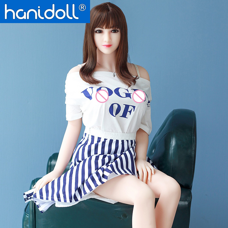Hanidoll Silicone Sex Dolls 158cm Sex Doll Realistic Male Love Doll TPE Sex Doll Lifelike Vagina Real Ass Adult Sex Toys For Men