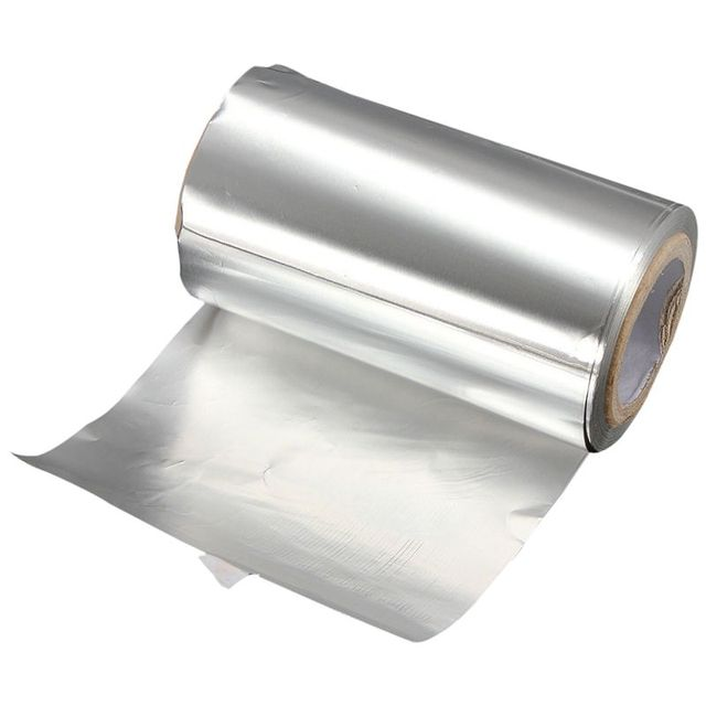 50M Silver Hair Tinfoil Foil Colored Highlight Salon Hairdressing Styling Tool