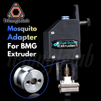 trianglelab Mosquito adapter for BMG Extruder for titan Extruder 1.75MM Mosquito all metal adapter for Mosquito Hotend mellow all metal nf crazy hotend v6 copper nozzle for ender 3 cr10 prusa i3 mk3s alfawise titan bmg extruder 3d printer parts