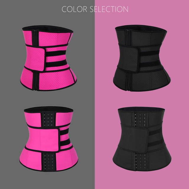 ROEGADYN Loss Sweat Band Wrap Fat Sports Waist Trimmer Belt For Women Waist Trimmer Breathable Fitness CrossFit Waist Support 1