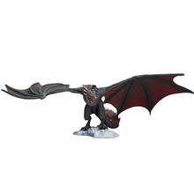 цена на 14 Cm Game of Thrones Action Figure Viserion Ice Dragon fire Drogon PVC action Figure collectible Model Toys for kid gift
