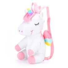 Girls Backpack Gloveleya Dolls Unicorn-Toy Soft-Bag 3D for Qute Kidarden