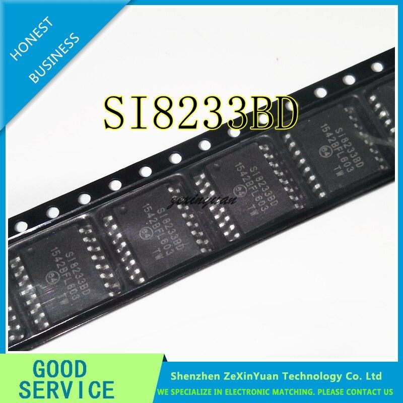 10PCS/LOT SI8233 SI8233BD SI8233BD-C-IS SOP16
