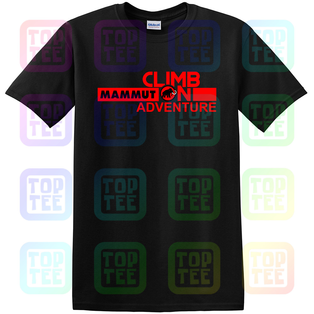 Mammut Outdoor Walking Climbing Adventure Mountain New Tee T Shirt Street Wear Print Shirt Size S-3Xl