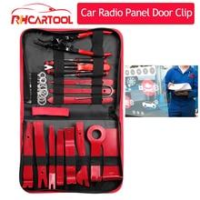 28pcs Car accessories Audio Maintenance Kit Auto Trim Repair Panel Remover Pry Bar Car Dash Radio Door Trim Panel Clip Hand Tool
