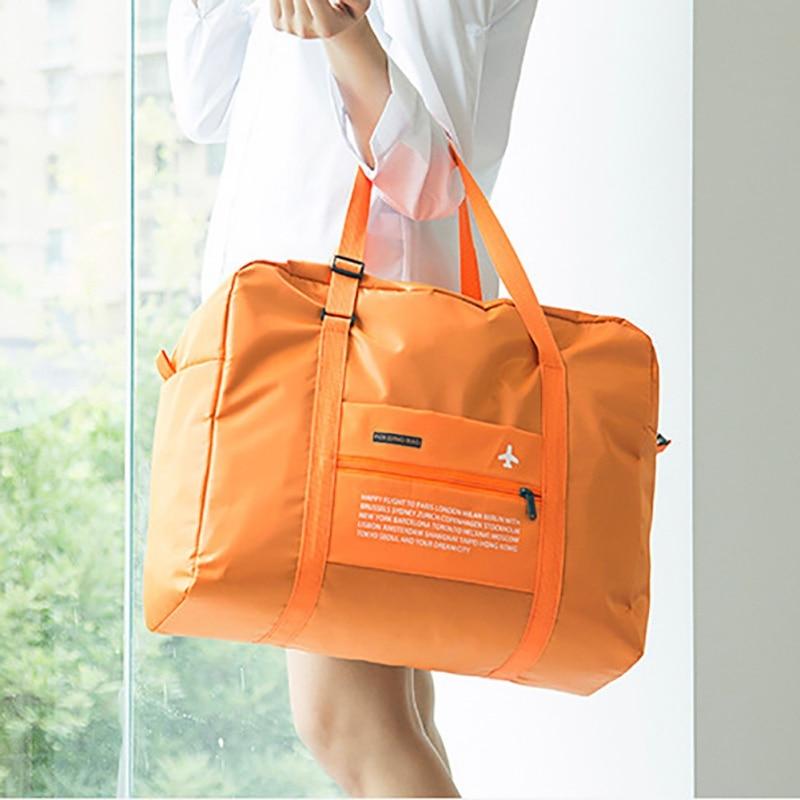 Travel Luggage Storage Bag Sleeve For Suitcase Trolley Handles Travel Duffel Shoulder Tote Bag