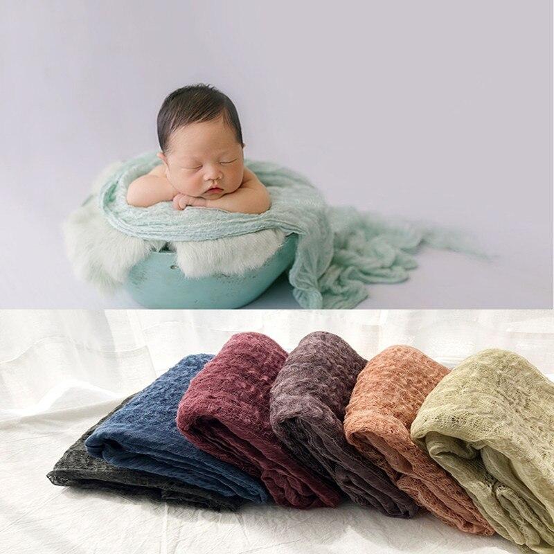 fotografia recem nascido aderecos envoltorio cobertor macio algodao swaddling bebe fotografia shoot pano de fundo photo