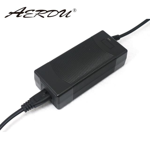 Adaptador do conversor da c.a. 5S 100 v da ue/eua/au/uk do carregador do bloco de bateria dos batterites do li íon do lítio da fonte de alimentação 18 v 2a de aerdu 240 21 v