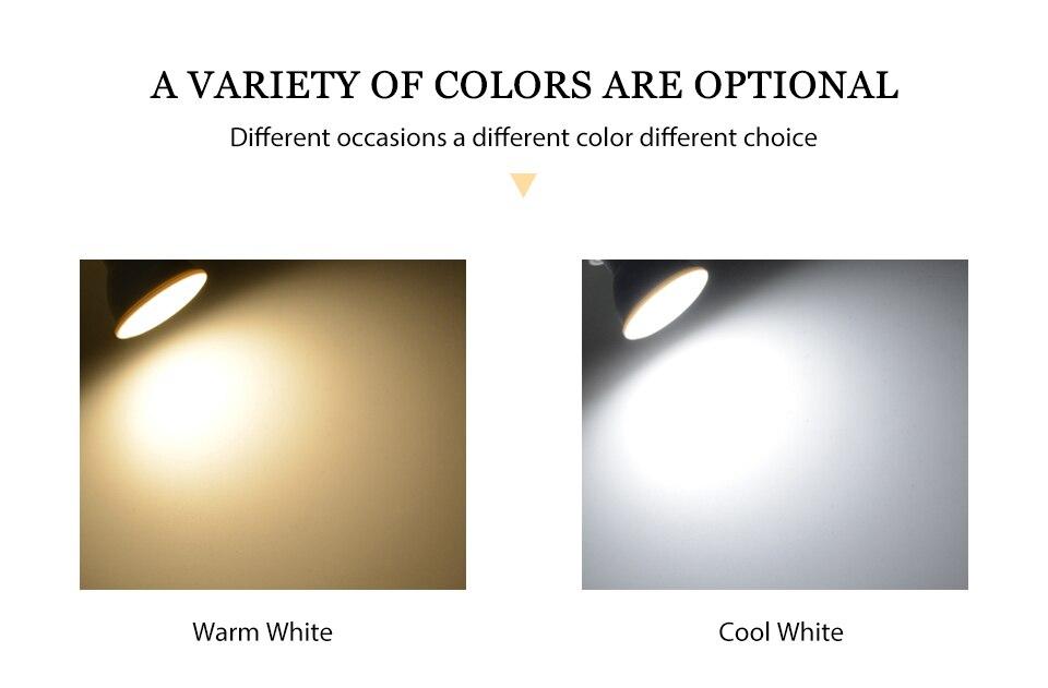 H685f72e2bb694174a0306a63638a10beK - KARWEN Lampada LED Lamp 6W GU10 GU5.3 MR16 E27 E14 LED Bulb 220V Bombillas LED Spotlight Lampara Spot Light for living room