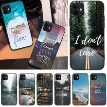 цена на LJHYDFCNB Travel mountain sea beach Phone Case Cover For iPhone 5C 6 6S 7 8 plus X XS XR XS MAX 11 11 pro 11 Pro Max