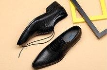 QYFCIOUFU Men Dress Shoes Genuine Cow Leather Brogue Wedding Shoes Mens Casual Flats Shoes Burgundy Oxford Shoes For Men Spring