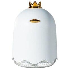 250Ml ultradźwiękowy nawilżacz powietrza Aroma dyfuzor olejków eterycznych dla domu samochód generator pary usb Mist Maker z 7 kolorów led lampka nocna w Nawilżacze powietrza od AGD na