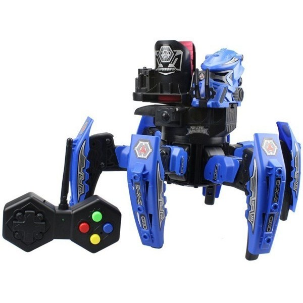 RC Spider Robot Space Warrior With Bullets And Hole. Sight KY9007-1