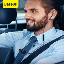 Baseus Bluetooth Lavalier Cài Tai Nghe Không Dây Với Micphone Tai Nghe Nhét Tai Nghe Tai Nghe Chụp Tai Fone De Ouvido Cho iPhone Android