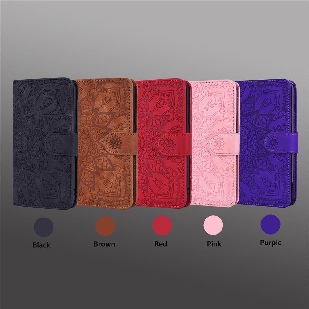 H6860288cfaaa4ce0ba9ccb4f810c5cf7i Matte Leather Phone Case For Samsung Galaxy A50 A70 A30 A40 A20 A10 A10E A20E A10S A20S A30S A50S Flip 3D Mandala Book Case