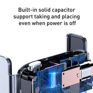 Image 4 - Baseus מיני אינטליגנטי אינפרא אדום מכונית טלפון בעל רכב מחזיק עבור טלפון במכונית נייד Stand עבור iPhone 11 Pro מקסימום