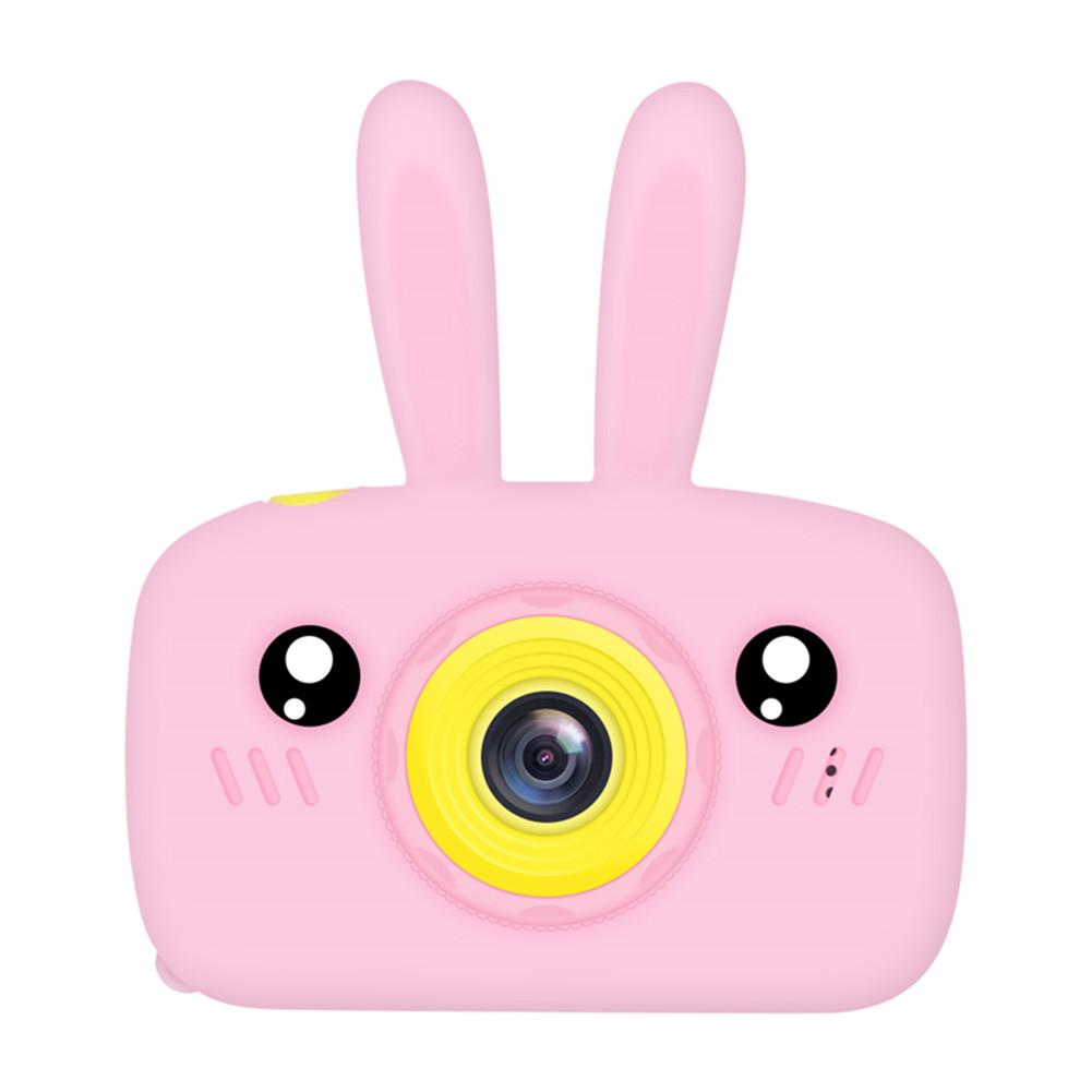 12MP Children 2inch Mini Digital Video Camera Rabbit Silicone Case Tour Rabbit Play Camera Video Recorder With 32GB Card Reader