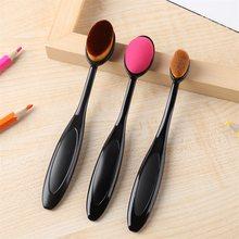 3 tamanhos escovas de mistura suave desenho pintura pincéis de maquiagem kit liso para diy scrapbooking cartões fazendo ferramentas artesanais