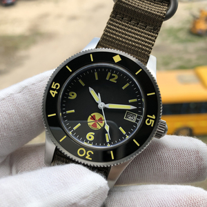 Image 4 - STEELDIVE 1952 China Red NH35 Automatic 300m Diver Watch Mechanical 316L Steel Automatic Watches Men Self Wind 41mm Dive Watch