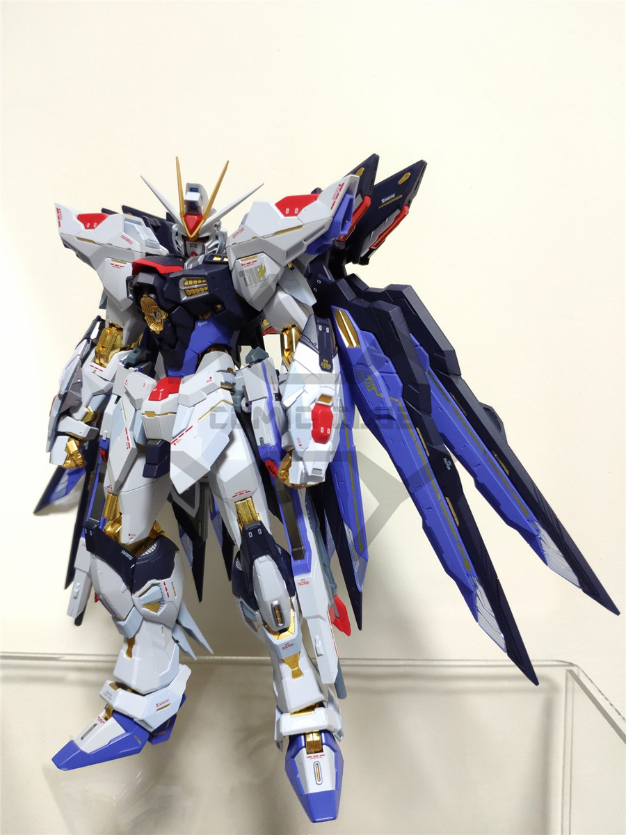 Image 4 - COMIC CLUB IN STOCK Metalgearmodels metal build MB Gundam strike freedom soul bule ver high quality  action figure robot toyAction & Toy Figures   -