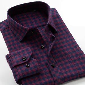 Image 5 - Plus Size Big 6XL 7XL 8XL 9XL 10XL 2020 Oversized Men Clothing Large Size Flannel Plaid Shirt Cotton Long Sleeve Shirt Male