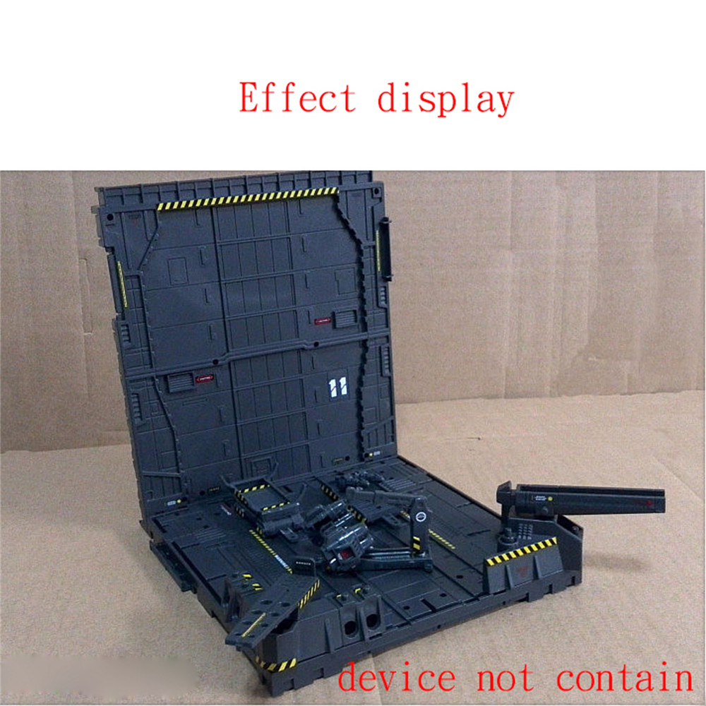 Water Decals Stickers Safety Warning Decal For MECHANICAL CHAIN ACTION BASE Machine Nest Garage Gundam Model MSG