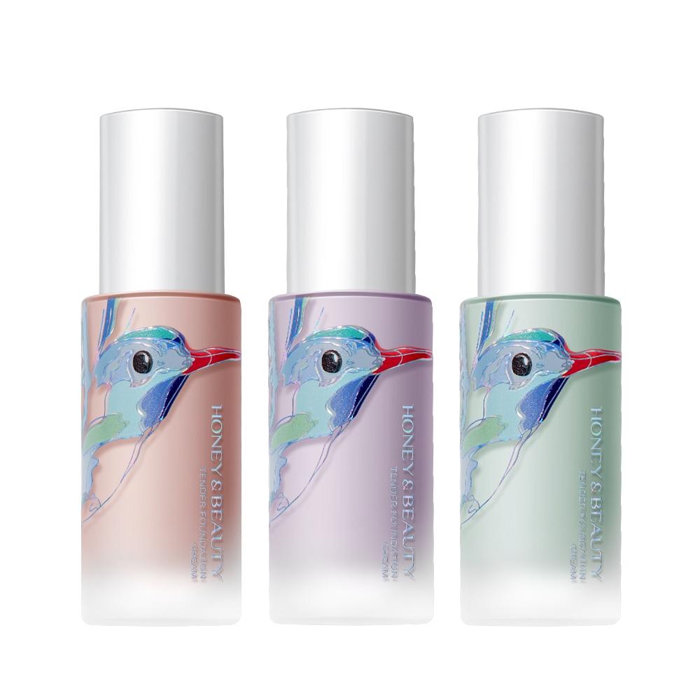 New Makeup Base Face Liquid Foundation Waterproof Moisturized Primer Full Coverage Concealer Matt Oil Control Cosmetic