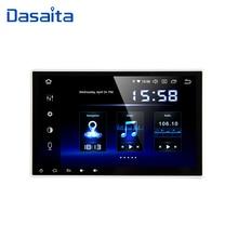 "Dasaita 10.2 ""HD ekran 2 Din araba radyo Android 9.0 evrensel araba Stereo multimedya için Nissan bluetoothlu gpsli navigasyon 64G ROM"