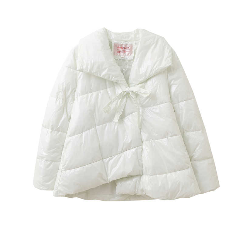 2019 Модные женские куртки, свободная парка, теплые зимние женские пальто, повседневные утолщенные парки, женские куртки с отложным воротником размера плюс