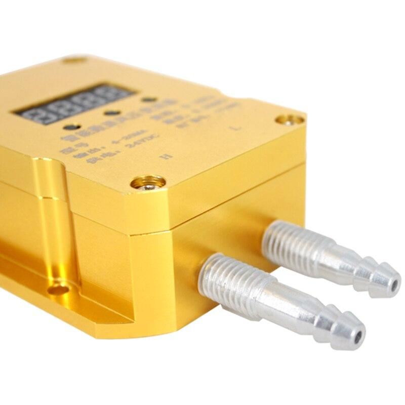 Saída Do Sensor De Pressão Diferencial Transmissor de Pressão do vento 4 20Ma Fã Pipeline de Pressão Positiva e Negativa do Forno - 3