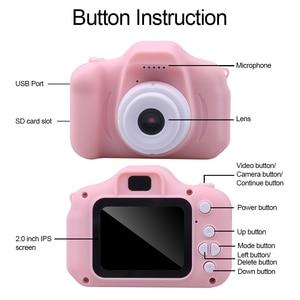 Image 2 - Миниатюрная Милая Детская цифровая камера kebidu, игрушечная камера, 2,0 дюйма, фотография, 1080P видео, детские игрушки, видеорегистратор, видеокамера