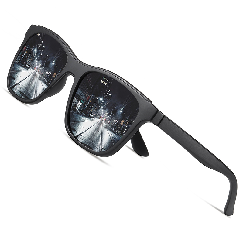 AOFLY BRAND DESIGN 2020 Polarized Sunglasses Men TR90 Frame Fashion Mirror Driving Fishing Sunglasses Male zonnebril heren UV400|Men