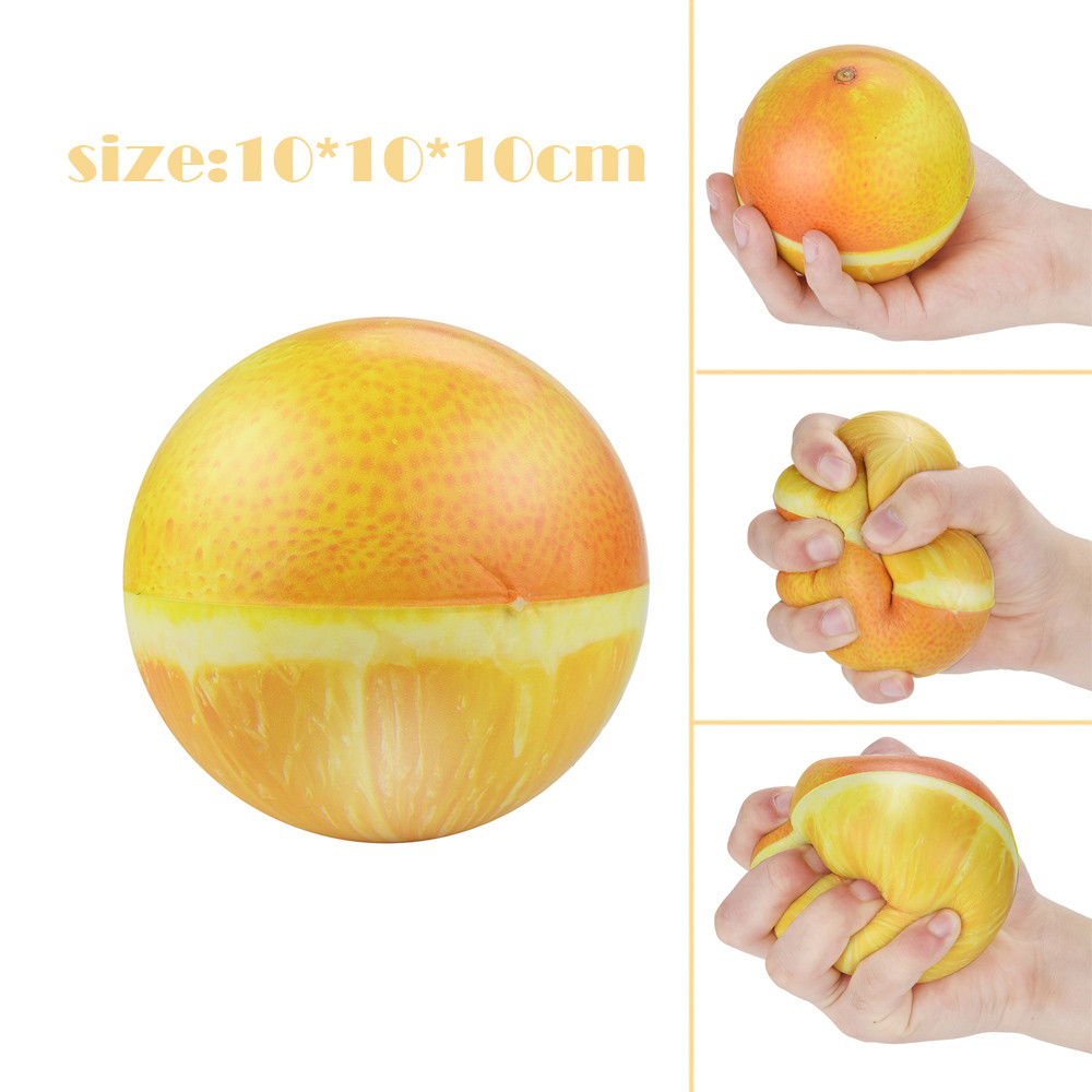 10cm Squishy Stress Reliever Decor Toys Scented Fruits Super Slow Rising Kids Toy Squeeze Antistress  Toys Gift  L0116