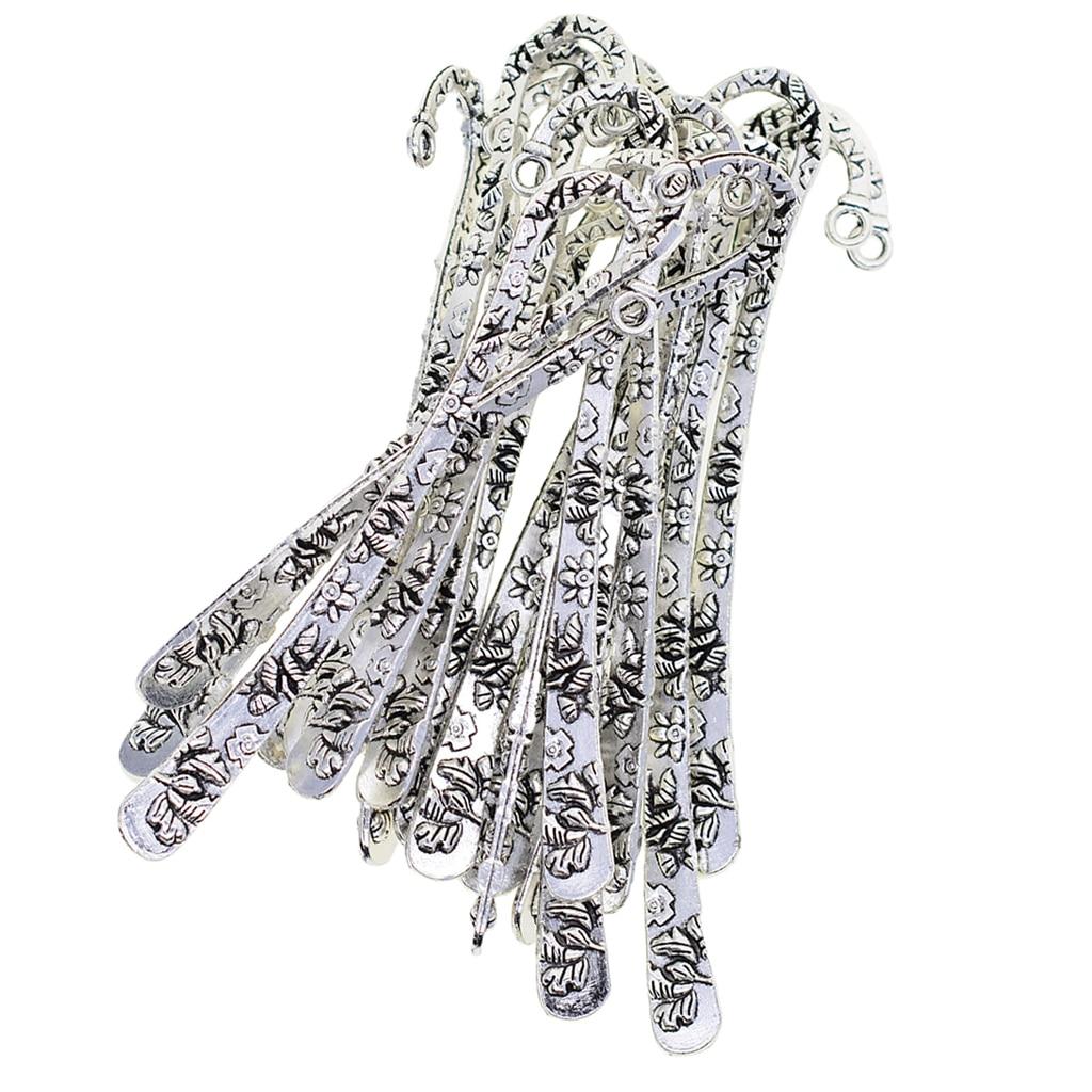 20 шт., тибетские металлические подвески