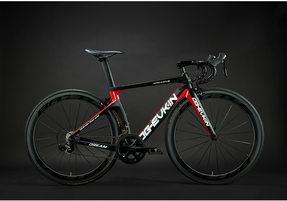 H68620ca5747e4b0dbd8a6276708f2cb09 OG-EVKIN CB-024 Carbon Complete Road Racing Bike Bicycles Light Weight 22 Speed 700C BICICLETA Ciclismo With Shiman0 105