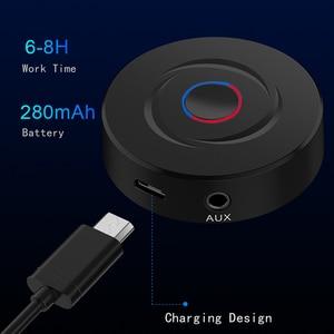 Image 2 - VIKEFON 2 IN 1 Bluetooth 5.0 4.2 alıcı verici RCA 3.5mm 3.5 Jack AUX Stereo araba kablosuz ses adaptörü PC için TV hoparlör