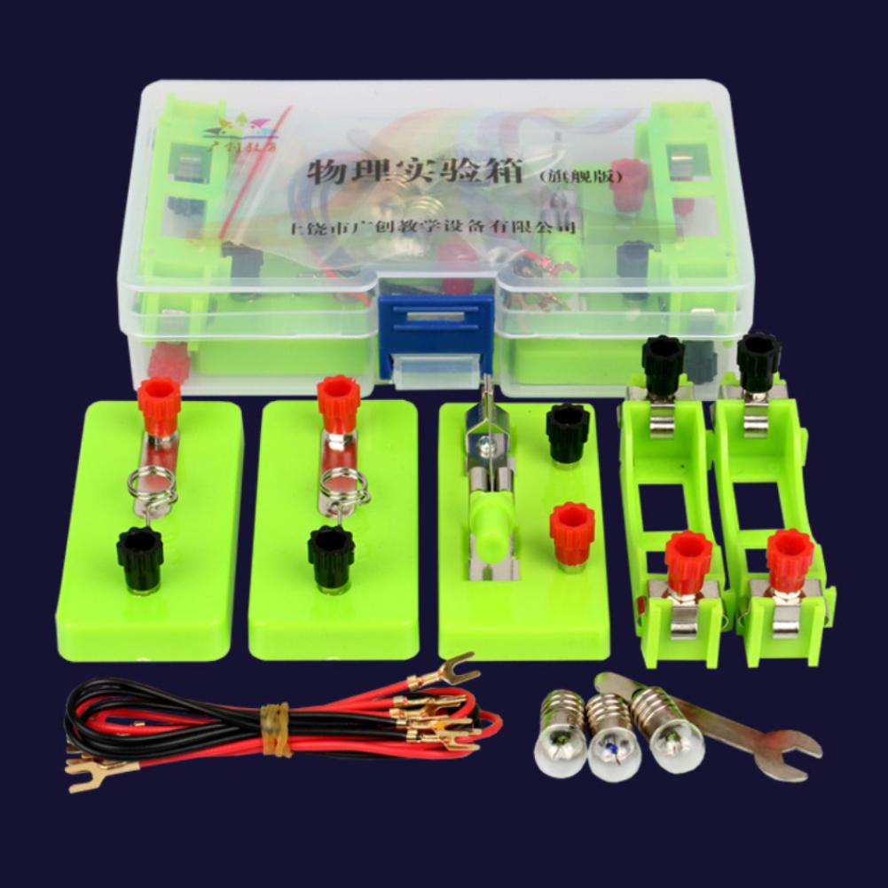 Physics Experiment Kits Physics Labs Electricity Circuit Magnetism Experiment Kits For Junior School For 7-14 Years Old