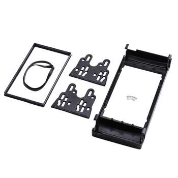 NEW-New Dash Mount Kit Adapter Trim Bezel Double 2 DIN Radio Fascia, for BMW X5 (E53) 5 (E39) Stereo Fascia Frame Panel image