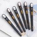 6 шт.  японская  унесенная призраками  гелевая ручка без лица  милая  0 38 мм  черные чернила  нейтральные ручки  рекламные канцелярские принадл...