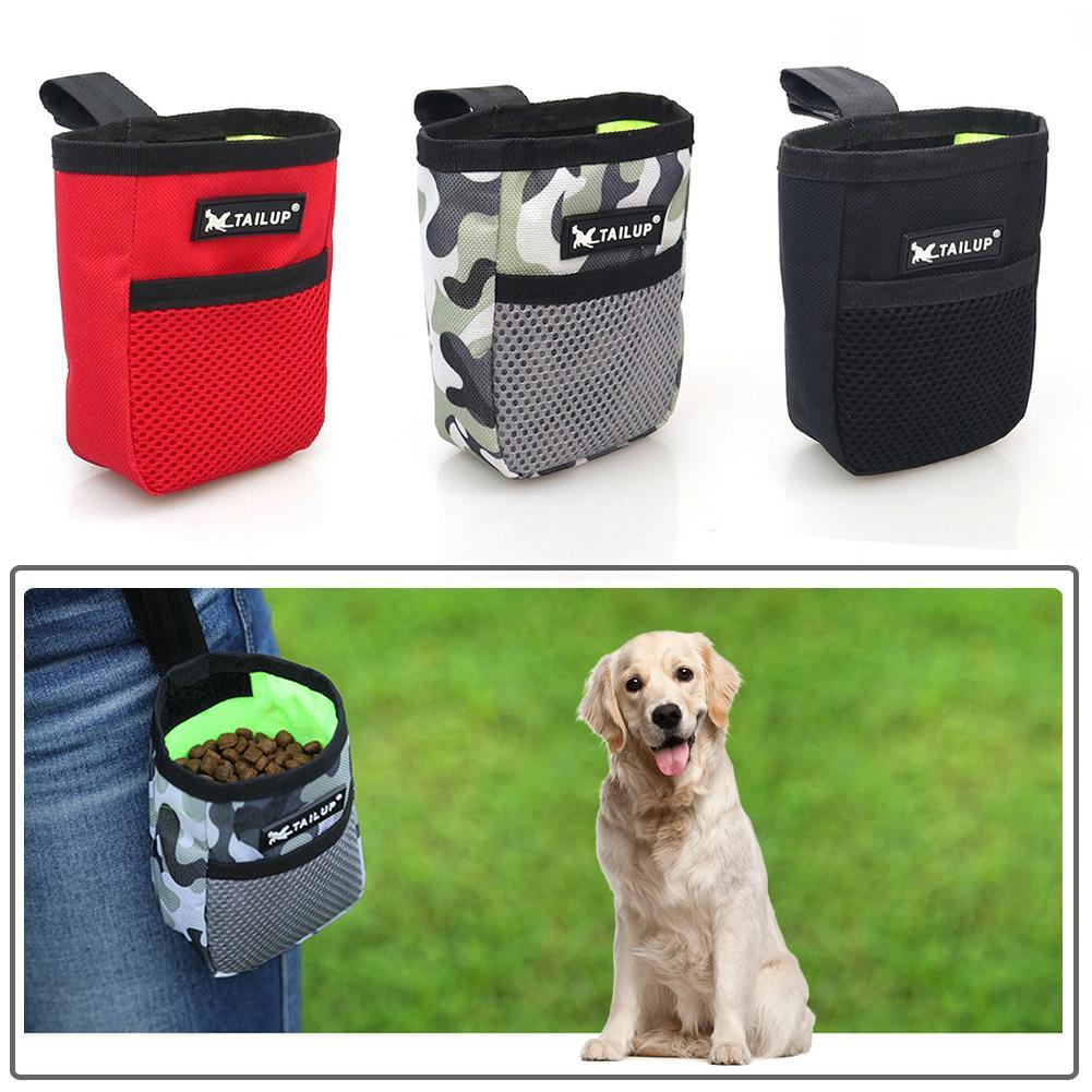Pet Training Dog Snack Bag Outdoor Portable Pet Feed Pocket Large Capacity Pouch Puppy Reward Puppy Snack Reward Waist Bag