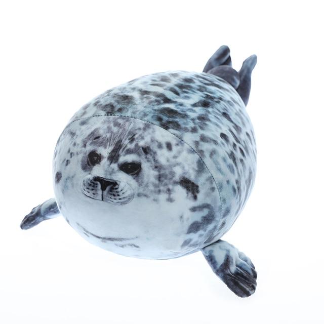 Yuki Chan Fluffy Seal Pillow 4