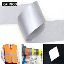 Reflektierende Band reflektieren streifen Streifen Wärme Übertragen Reflektierende Aufkleber Für Kleidung Eisen Auf Tasche Schuhe Diy Handgemachte Handwerk