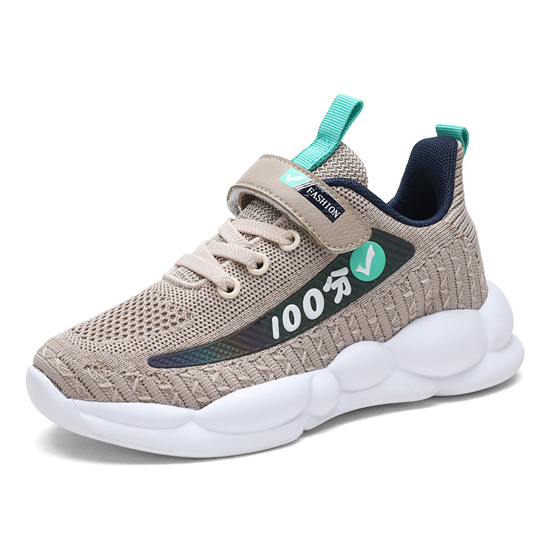 HBH926817-9 Spring Autumn Unisex Children Boys BABY Tennis Sports Breathable Outdoor Kids Sneakers Running Girl Shoes EUR28-39