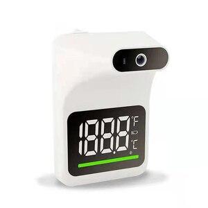 Бесконтактный инфракрасный термометр для лба, цифровой термометр Senor с настенным креплением, самостоятельное обслуживание, Автоматическая сигнализация температуры