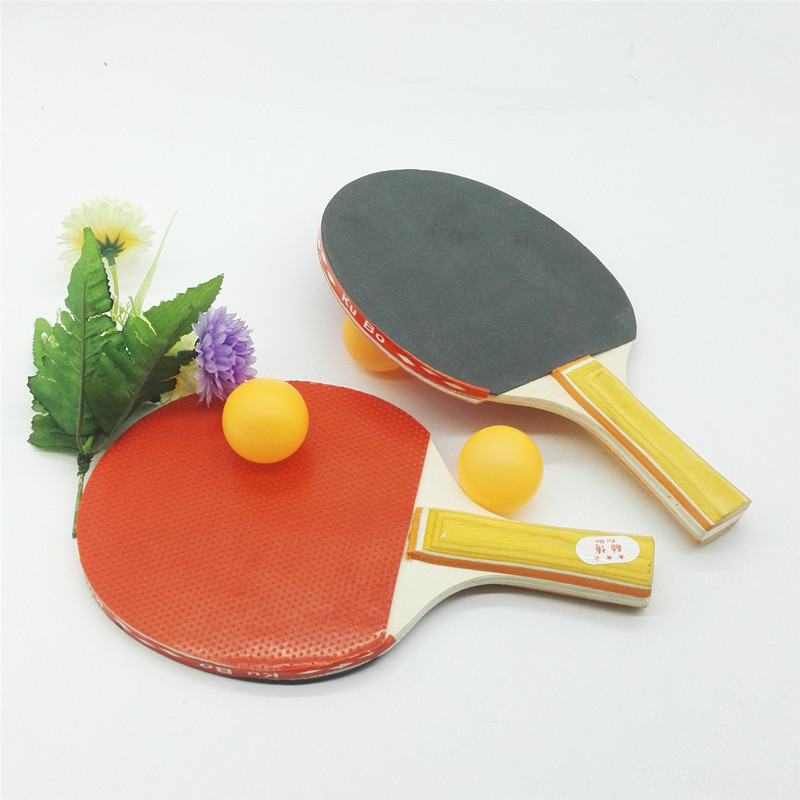 H028D A Pair Of Table Tennis Racket And Ball Set + 5-10 Yuan Shop The Department Store Two Yuan Shop Supply Of Goods Boutique Ma